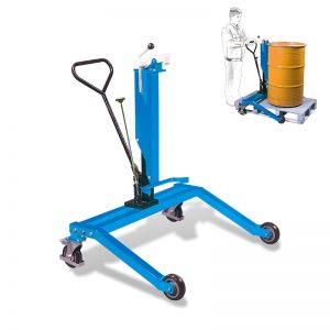 DTR250 hydraulický bubenový vozík s rozkročenou nohou