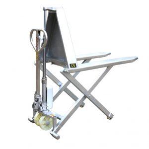 Vysokozdvižný nůžkový paletový vozík s rámem z nerezové oceli HSG540M
